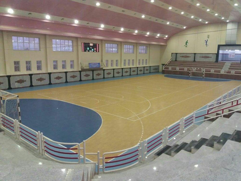 ساخت سالنهای ورزشی متناسب با نیاز شهروندان در اصفهان