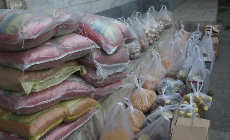 تهیه ۹۰۰ بسته کمک معیشتی در اوقاف گلپایگان