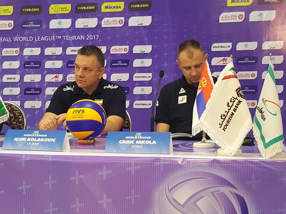 کولاکوویچ: خوشحالم در هفته دوم میزبان هستیم