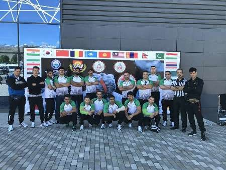 Iranian arm wrestling team stands third in Asia