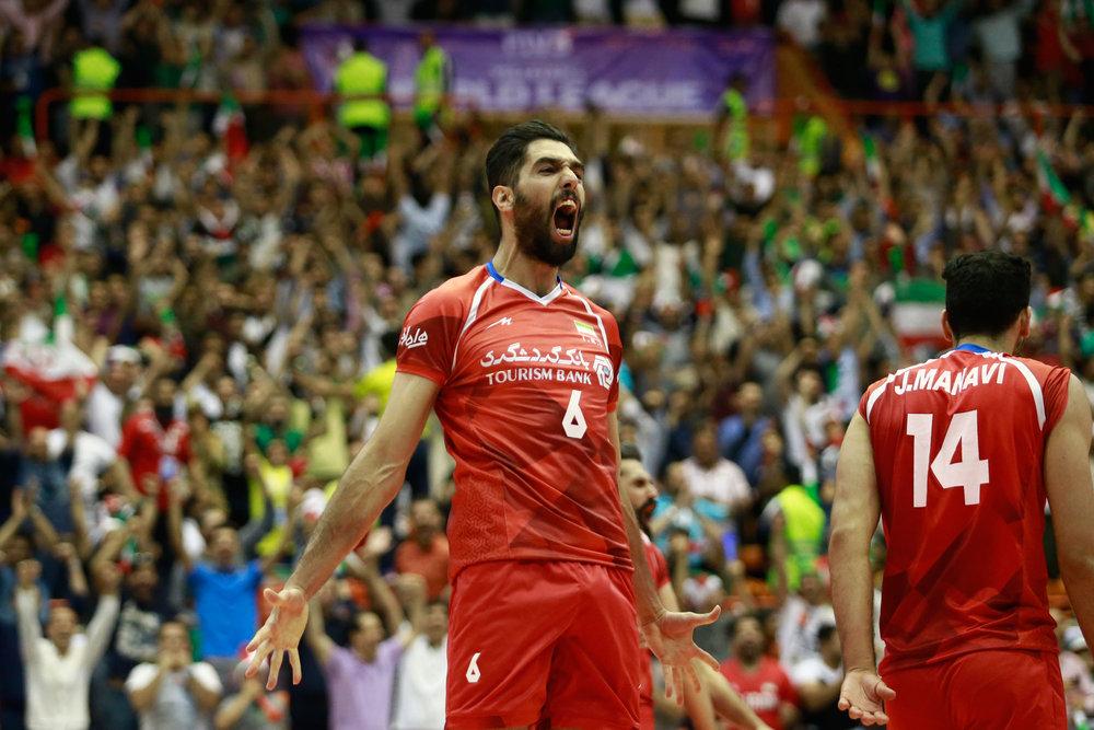 نتایج کامل سومین روز هفته دوم لیگ جهانی/ صعود دوپلهای ایران