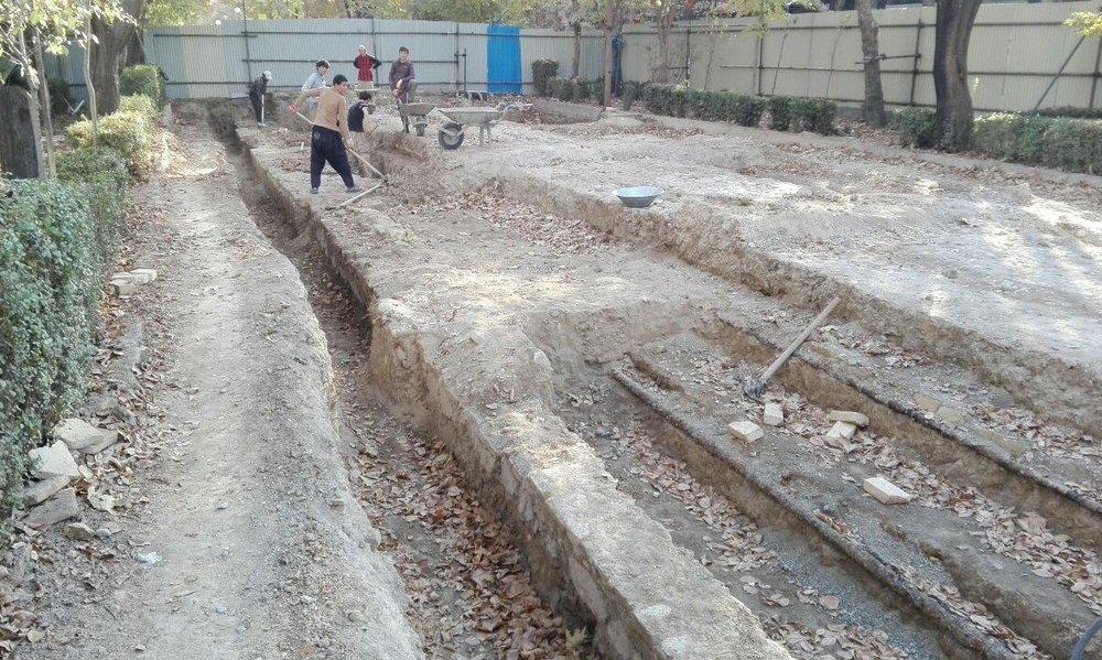 اجرای عملیات احداث پیادهراه خیابان امیرکبیر برای حفظ هویت شهر