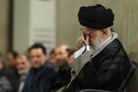 مراسم سوگواری حضرت امیرالمؤمنین(ع) با حضور امام خامنهای برگزار شد