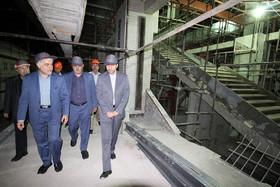 بازدید شهردار اصفهان از روند ساخت و تکمیل پروژه مترو-ایستگاه سی سه پل