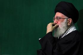 مراسم سوگواری امام علی(ع) در حضور امام خامنهای برگزار شد