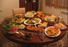 میهمانیهای وعده افطار باعث افزایش وزن میشود