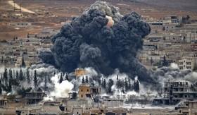 حمله هوایی آمریکا به مواضع ارتش سوریه