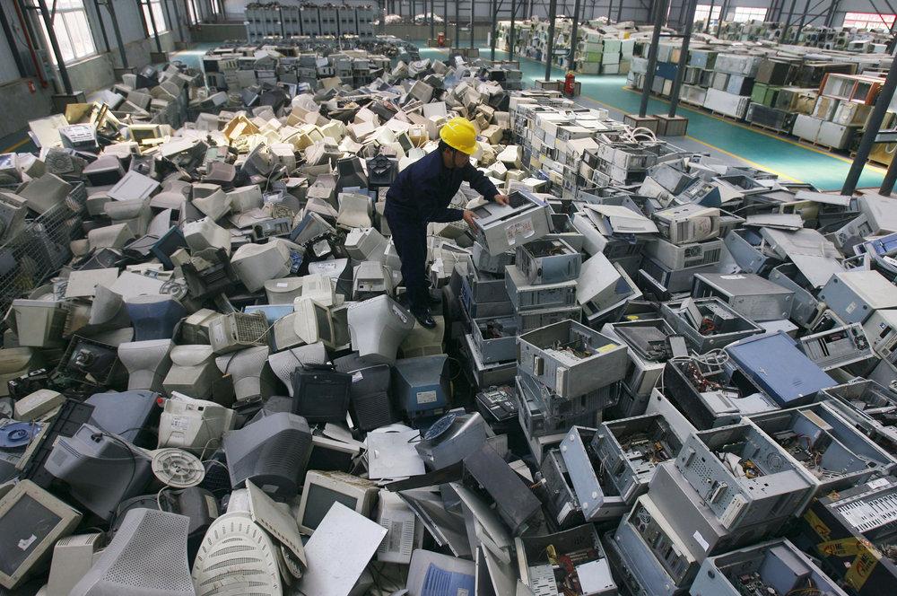 پسماندهای الکترونیکی خود را به ایستگاههای ثابت بازیافت تحویل دهید