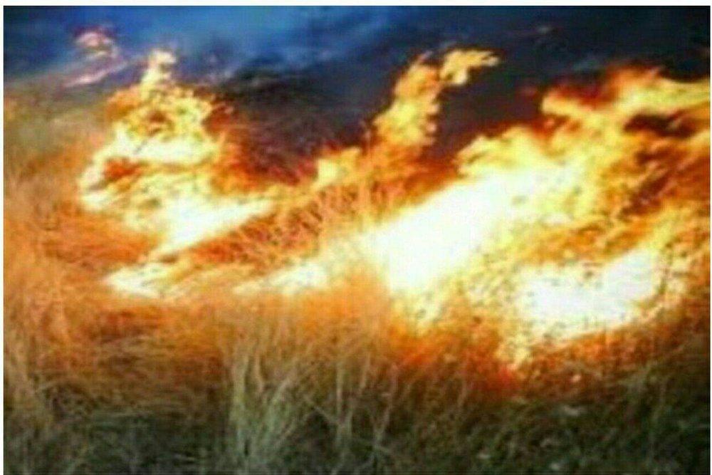 مهار ۲ آتش سوزی در مراتع فریدونشهر و شهرک صنعتی کوهپایه