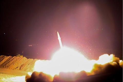 حمله موشکی سپاه به دیرالزور سوریه