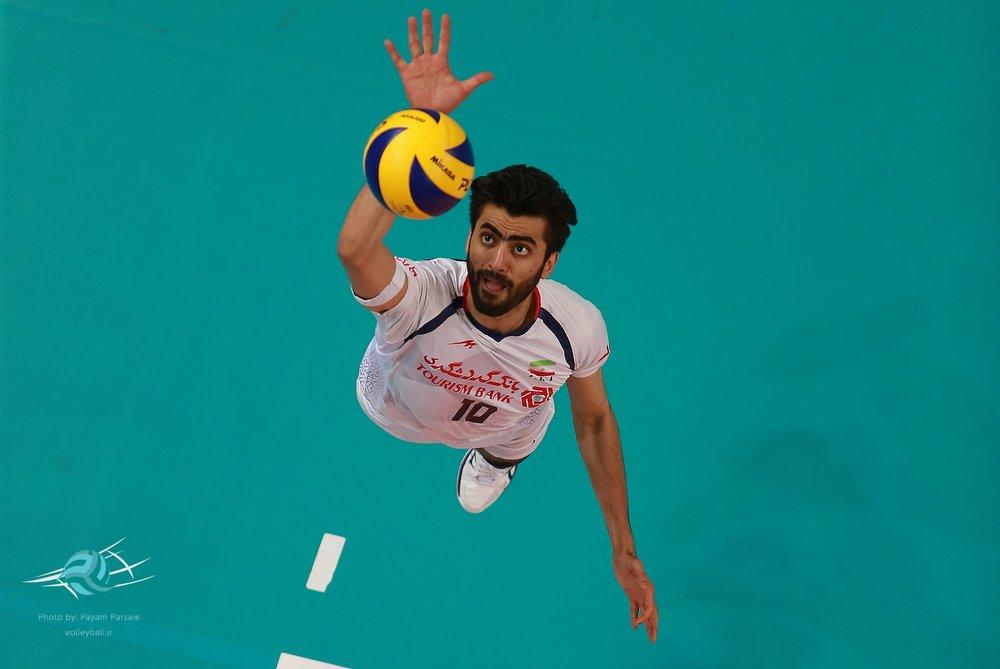 والیبالیست اصفهانی دومین لژیونر ایران در ایتالیا