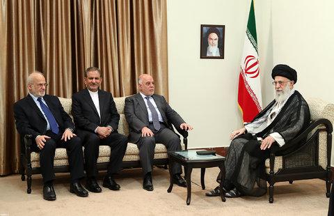 دیدار نخست وزیر عراق با امام خامنهای