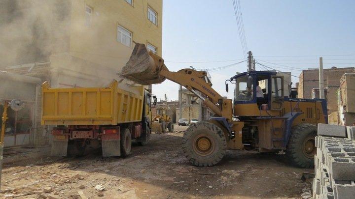 بازگشایی ملک ۵ هزار مترمربعی در مسیر کمربندی امیریه در شهریار