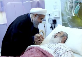 وضعیت آیت الله مظاهری بعد از عمل جراحی مساعد است/دیدار رئیس جمهور با آیت الله مظاهری