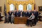 کابینه ترامپ و اعضای کاخ سفید