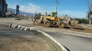 تخریب و آزادسازی یک واحد تجاری در خیابان ۱۴ معصوم (ع)