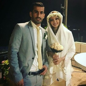 حاجصفی ازدواج کرد + عکس
