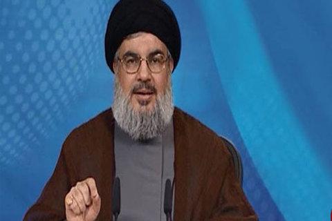 نصرالله: آیتالله خامنهای، حسین زمان، رهبر ما و محور مقاومت است