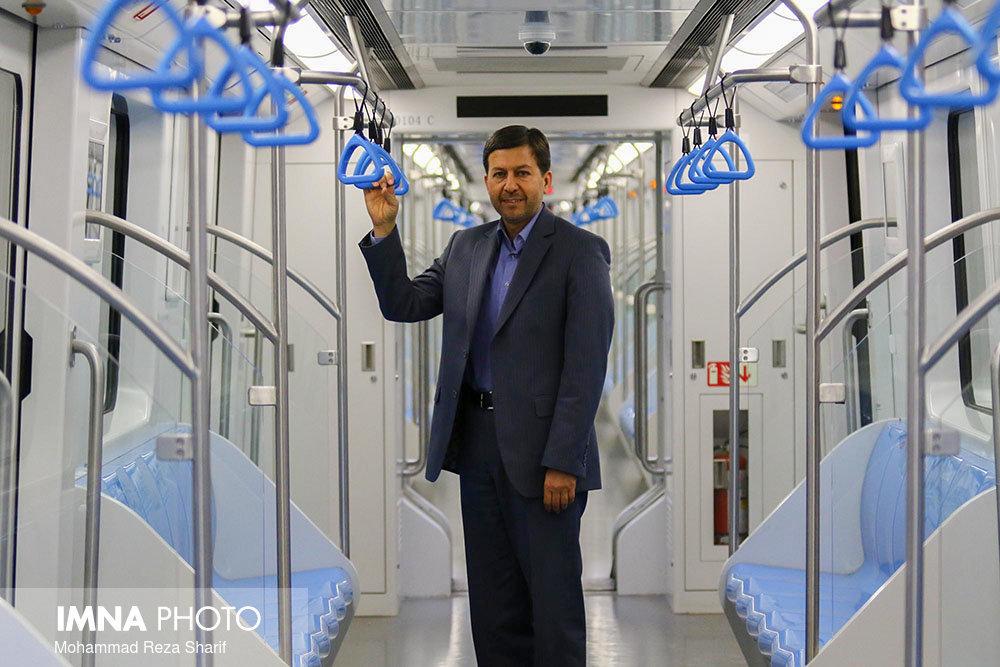 سال ۱۴۰۰ شبکه ریلی اصفهان تکمیل میشود