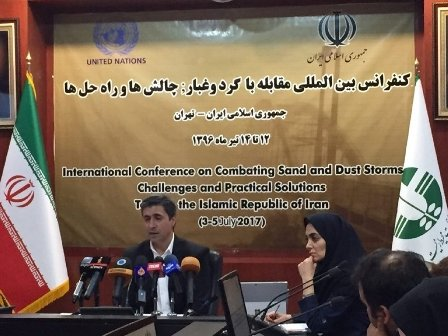 Tehran Int'l Dust Conference to be held in July