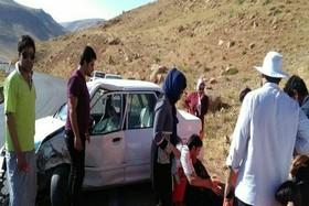 حادثه تصادف محور سمیرم یاسوج 4 مصدوم بر جای گذاشت+عکس