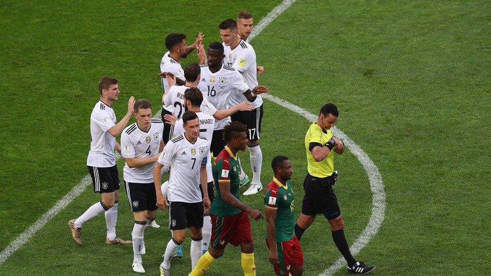 صدرنشینی آلمان به لطف توقف شیلی برابر قهرمان آسیا