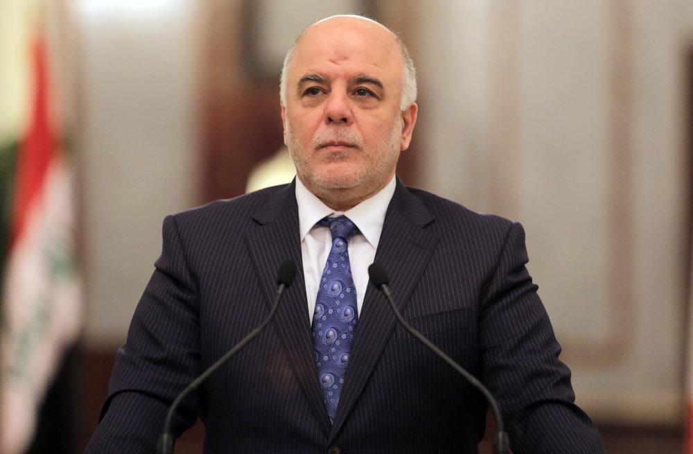نخستوزیر عراق پایان جنگ با داعش را اعلام کرد