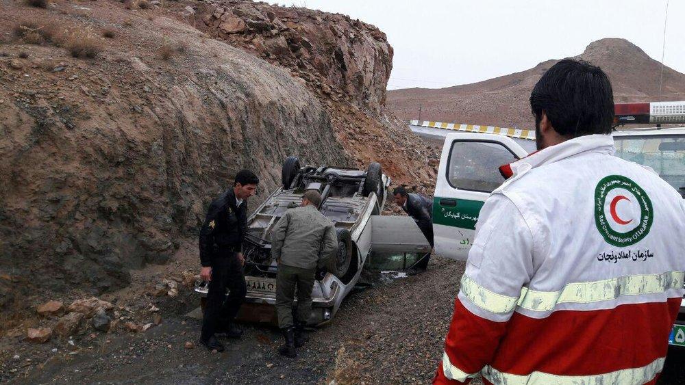 امدادرسانی به ۸۱ آسیب دیده در ۳۳ حادثه/حوادث جادهای در صدر آمار