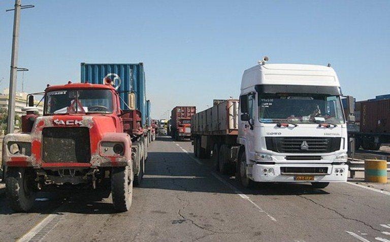 تردد و ورود کامیون به پایتخت ممنوع شد