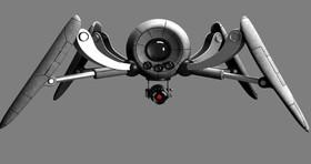 ساخت روبات عنکبوتی که با تغییرات رطوبت حرکت می کند