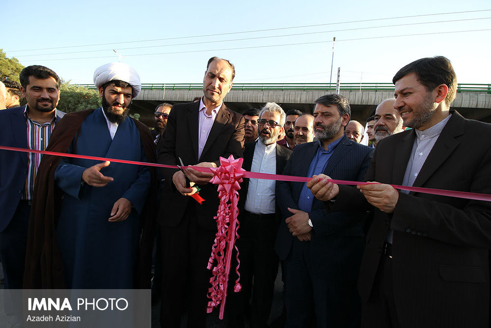 Executive operations and inaugurations of district 5/ Isfahan