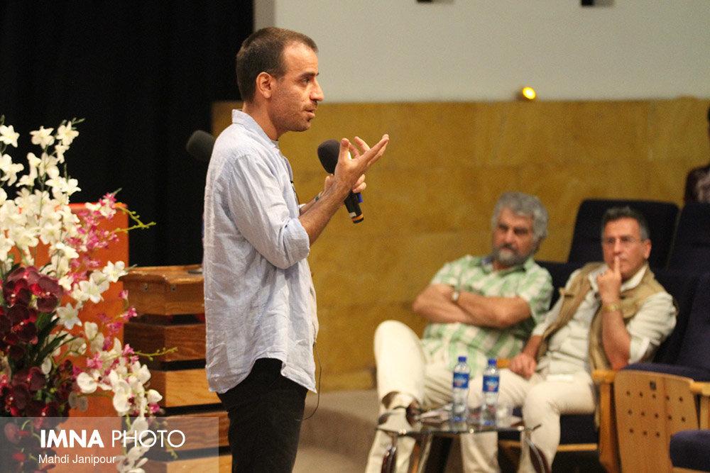 شهرام مکری در جشنواره فیلم ونیز سخنرانی میکند