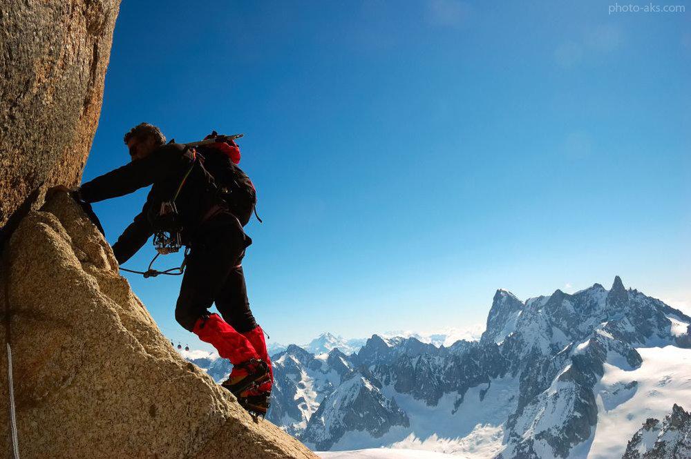 کوهنوردی ورزشی خطرناک و نیازمند آموزش است