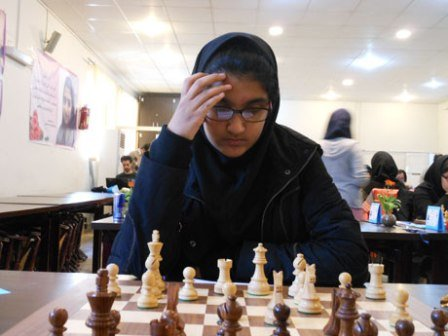 Iranian female chess player wins west Asian champs