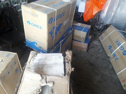 کشف انبار کالای قاچاق در اصفهان