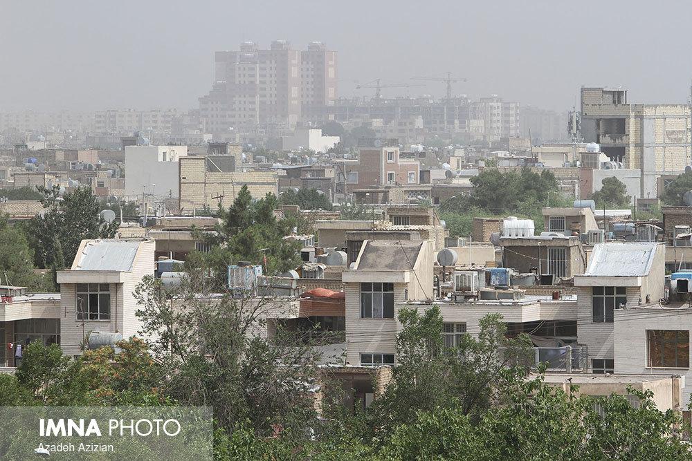 هوای اصفهان همچنان ناسالم است