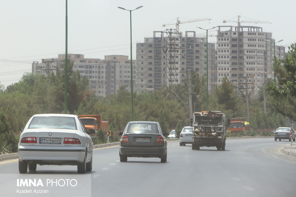 هوای اصفهان در وضعیت نارنجی