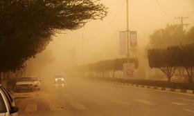 وزش باد و خیزش گرد و خاک پدیده غالب استان
