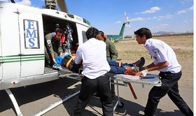 فوریت های پزشکی اصفهان، ۱۲ بیمار ایست قلبی را در آبانماه احیا کردند