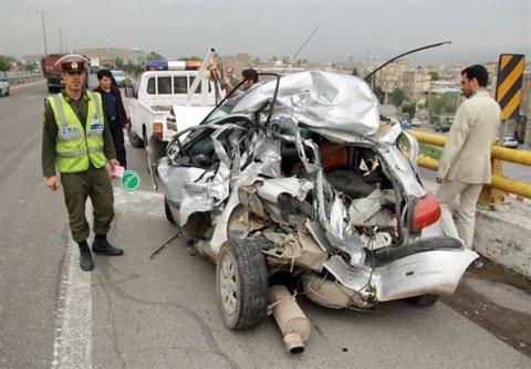 تصادفات در جاده های استان اصفهان