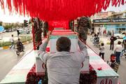 استقبال از کاروان شهدا در شهرهای خوانسار،فریدن و تیران