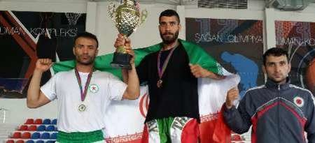 Iran ranks 1st in Baku martial arts competitions
