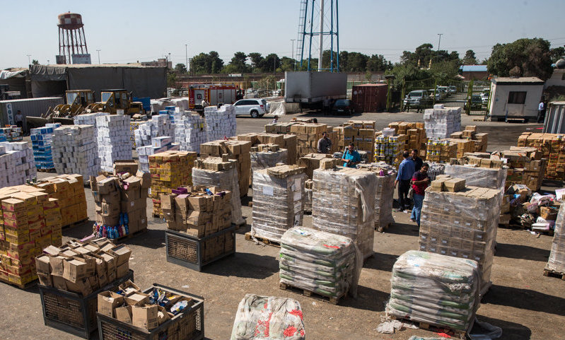 کشف ۳.۵ میلیارد تومان انواع کالای قاچاق در استان اصفهان