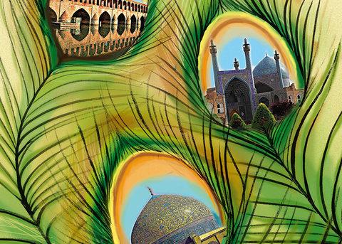 کاریکاتور اصفهان مینیاتور شهرهای ایران