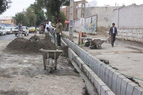 اجرای ۲۰ میلیارد پروژه خیابانسازی در منطقه ۱۲