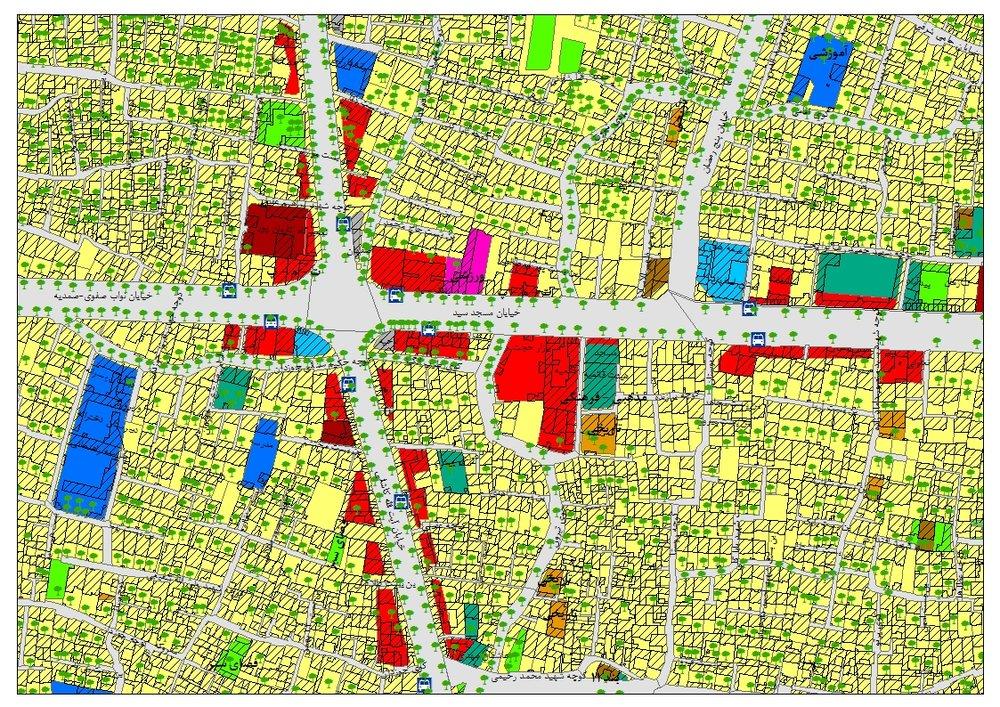 """استفاده از """"سامانه اطلاعات جغرافیایی"""" در مکانیابی شهری"""