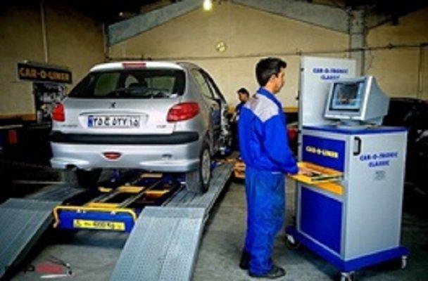 انجام صحیح معاینه فنی خودروها باعث کاهش آلودگی هوا میشود