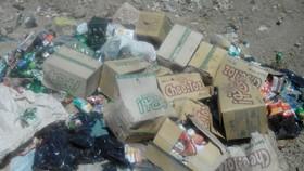 ۳۰ تن مواد غذایی غیر قابل مصرف معدوم شد