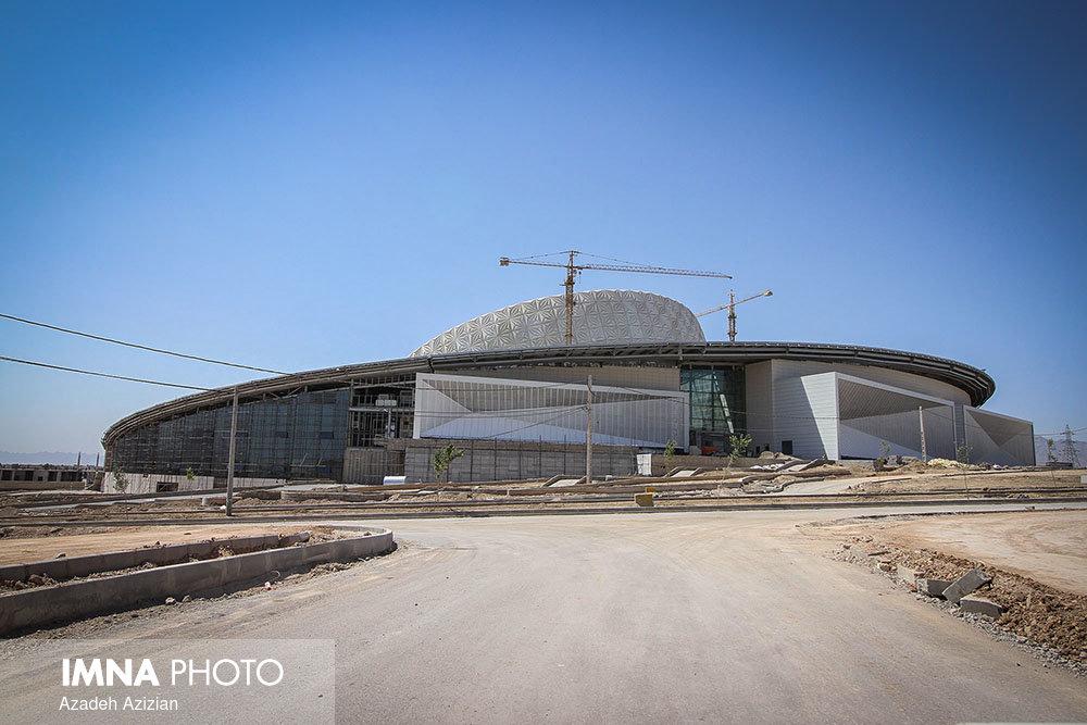 پیشرفت مرکز همایش های بین المللی اصفهان - شهریور 1396