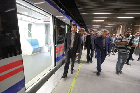 Metro line through historical Chahar-Bagh Ave. meets standards: Mayor